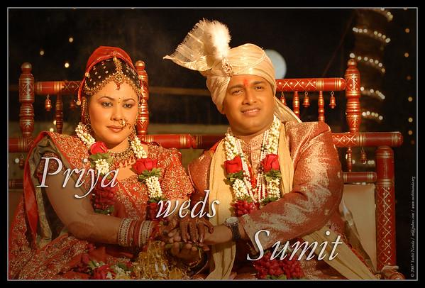 Priya & Sumit's Wedding Dec'07