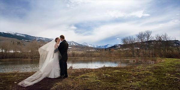 Wedding album: Nicole and Matt in Aspen