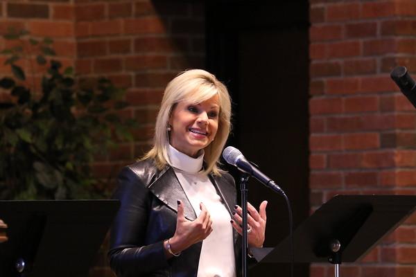 Gretchen Carlson Chapel - KCHS - 11/10/17