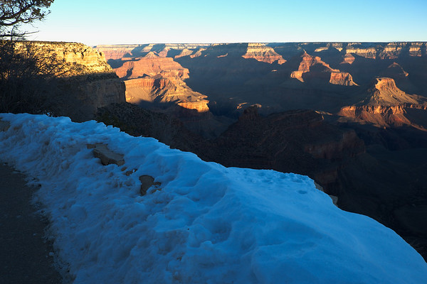 Winter  on Grand Canyon's South Rim