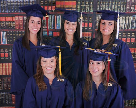 FIU Graduation Cap & Gown Spring 2012