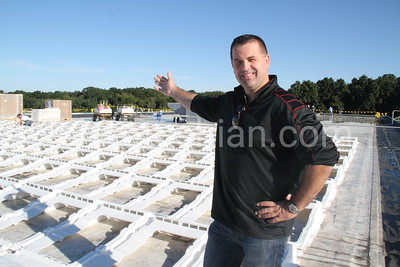 Solar Panel Installation at the Firestone Plant - August 29, 30 & 31, 2012