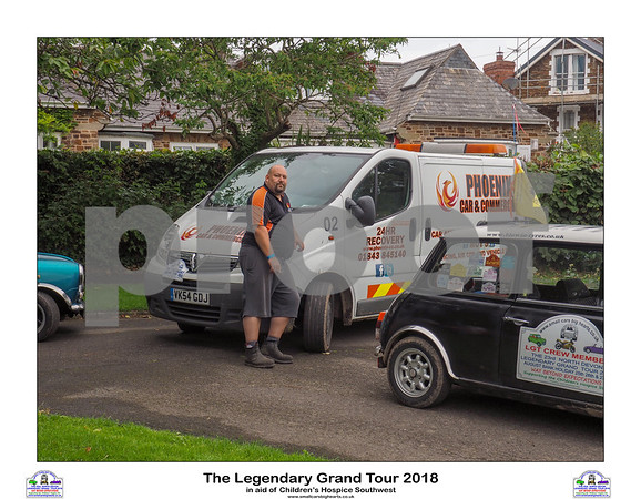 The Legendary Grand Tour 2018 - Monday Run