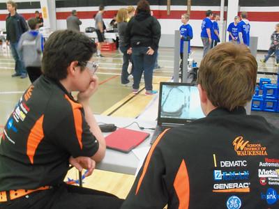 VEX 2015 Tournament Day 1