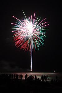 07/04/2011 - Fireworks at Jacksonville Beach