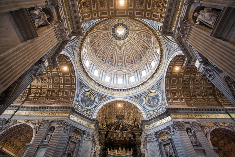 Dome of Saint Peter's Basilica, Vatican