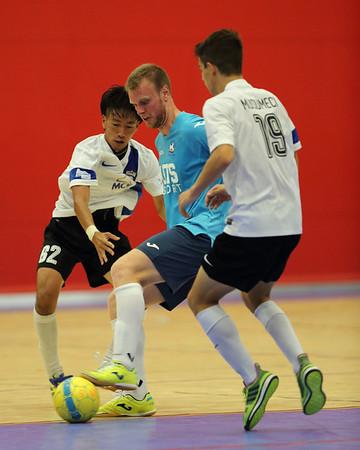 2016 0130 - Futsal PL UTS NFC v Taipans