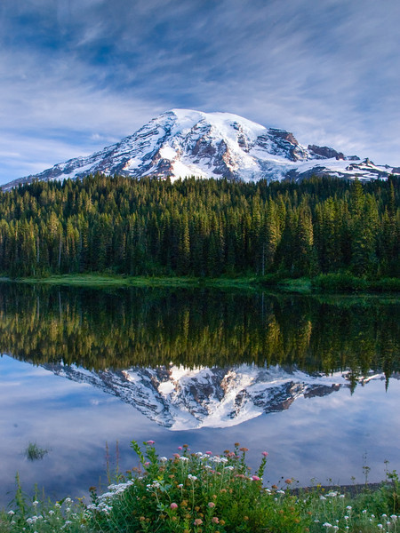 Reflection Lake, Mt Rainier National Park, WA