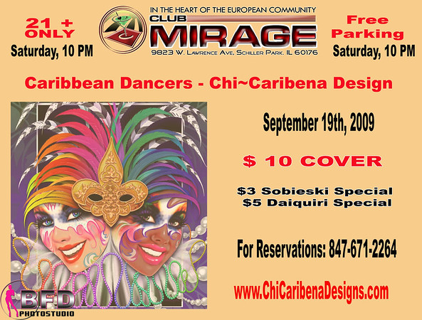 Chi-Caribena Designs at Club Mirage