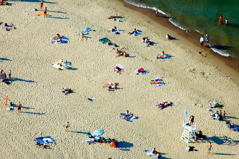 A regular day at Oak St. Beach