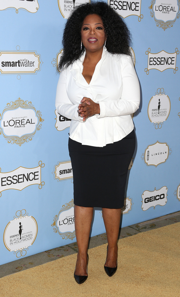 Description of . Oprah Winfrey attends the Sixth Annual ESSENCE Black Women In Hollywood Awards Luncheon at the Beverly Hills Hotel on February 21, 2013 in Beverly Hills, California.  (Photo by Frederick M. Brown/Getty Images)
