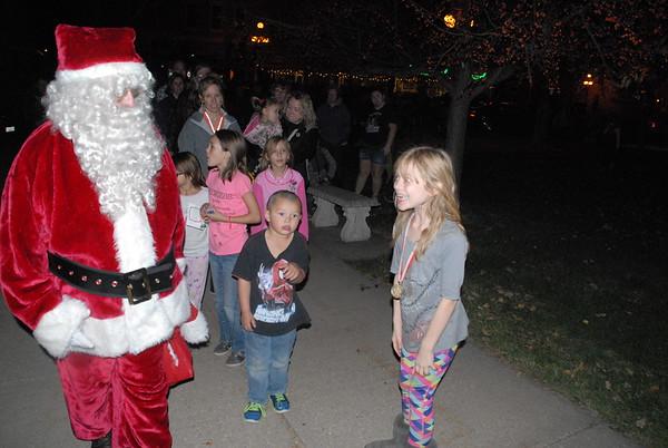 Santa Claus comes to Vinton