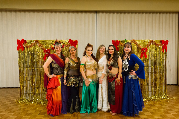 Bellydance Christmas Show and Party 2016