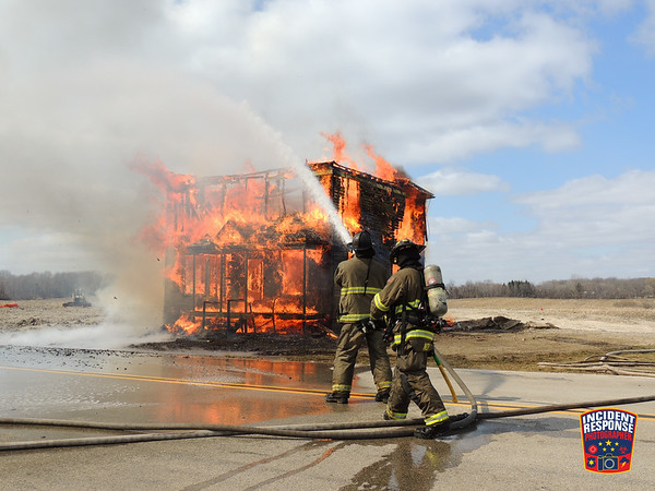 House burn in Caledonia on March 31, 2021