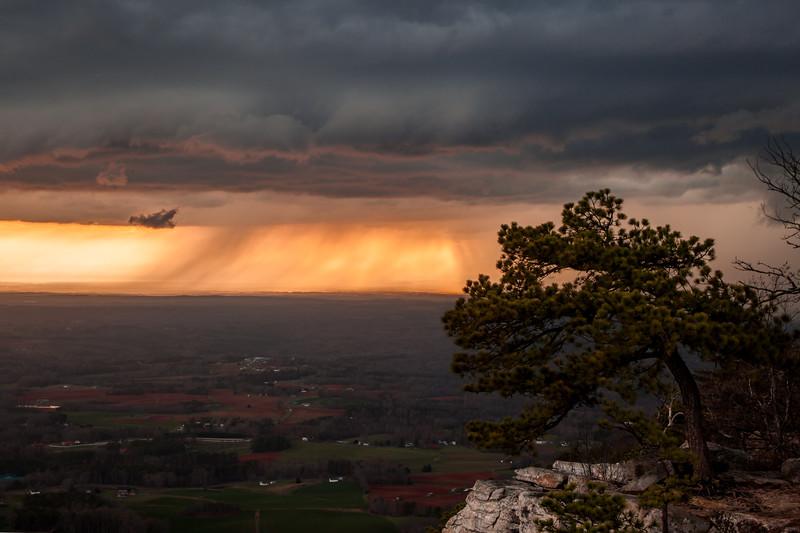 Pilot Mountain Shelf Cloud