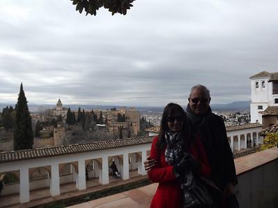 Granada, Spain - February, 2014
