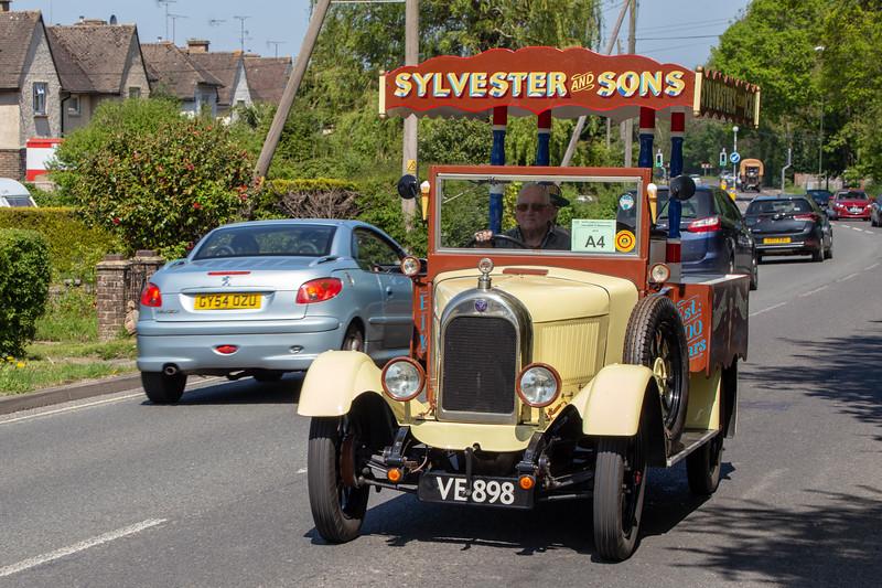 VE898 1929 Morris Light Ice Cream Van