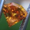 .84ct Fancy Deep Orange-Yellow Shield Shape Diamond, GIA 4