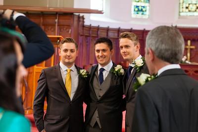 Chris and Kate's wedding