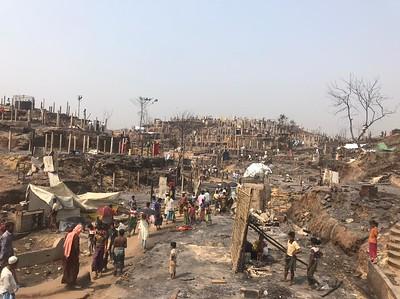 Cox's Bazar fire 21.03.21