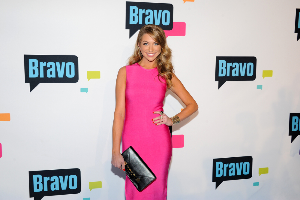 ". Stassi Schroeder from ""Vanderpump Rules\"" attends the Bravo Network 2013 Upfront on Wednesday April 3, 2013 in New York. (Photo by Evan Agostini/Invision/AP)"