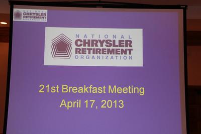 NCRO Meeting 2013 04 17