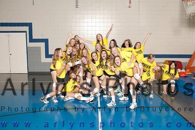 8th Grade Fun Volleyball Photo