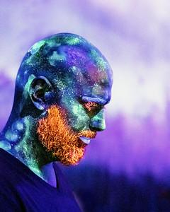 02 23 19 Black Light Body Paint Dance Party