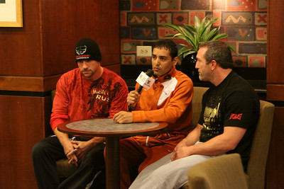 Ballroom Brawl at the DoubleTree...Weigh In... Thursday March 4, 2010