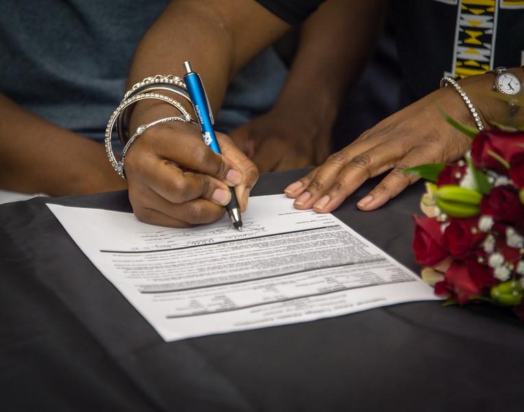 Jasmine, William,s Scholarship, Signing, 05-15-15, 2015, NCHS-22