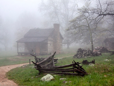 Foggy Blue Ridge Homestead, VA