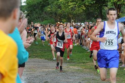 Boys Junior High Race