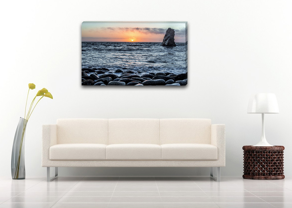 "$200    -    The Lookout    -    40"" x 24"" Gallery Wrap 1.5"" Canvas"