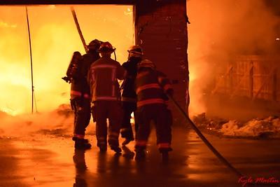 16 011616 MTFD Midland Road Fire
