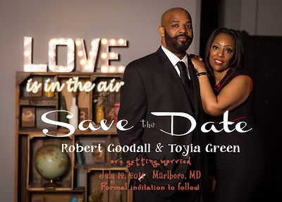 Robert & Toyia (Save the Dates)