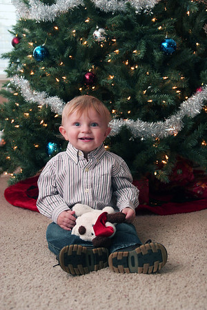 Jonah's Christmas Pictures - December 13, 2007