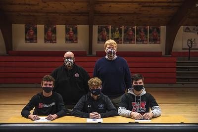 ECA Baseball Athletes Sign at Collegiate Level