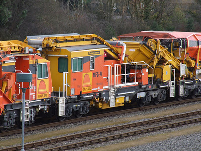 YDA-G - P & T Serco-Rail (MFS-A) Ballast Cleaner Interface Wagon