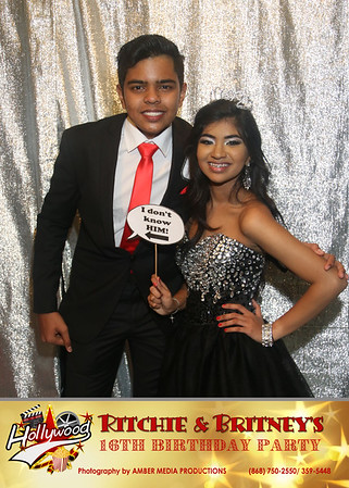 BRITNEY & RITCHIE SWEET 16TH