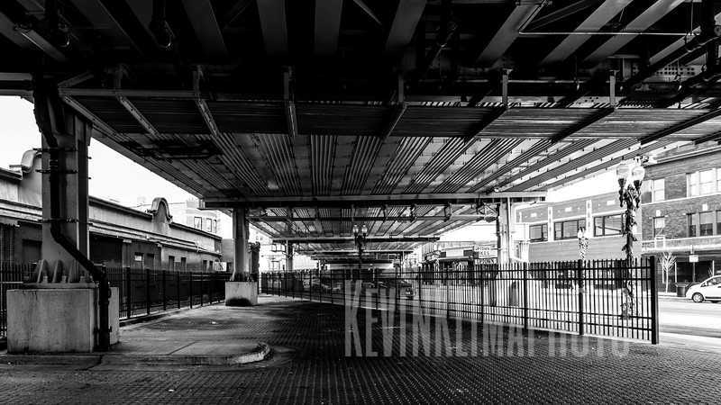 Below the Wilson Red Line Station