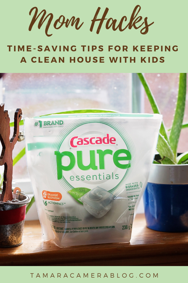Can I just say that I am ALL about the mom hacks this crazy hectic time of year? Find out our time-saving ways to get order in the house #ad #PureEssentials