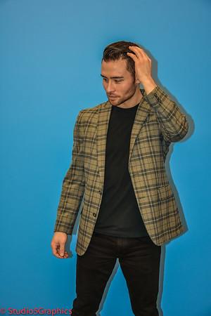 Shaun Chance Fashion Collaborative photo shoot