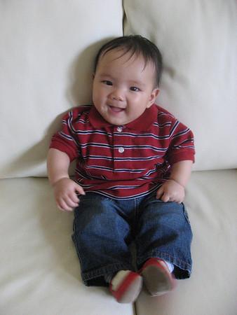 Caleb 5 Months