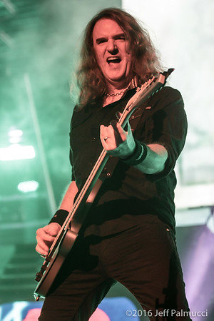 Megadeth at the DCU Center - Worcester, MA