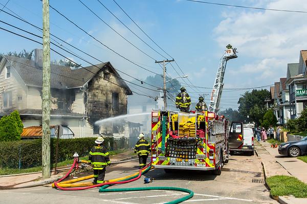Englewood NJ 2nd alarm, 15 West Hamilton Ave. 09-08-21
