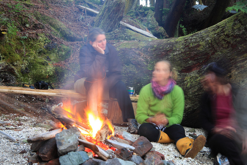 Listening to a campfire story