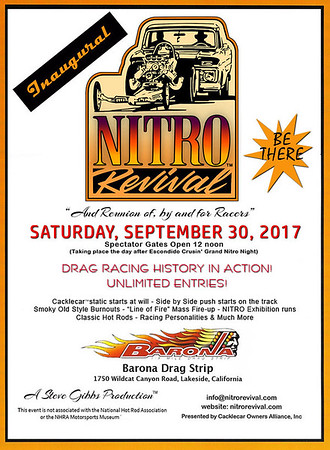Nitro Revival - Barona Drag Strip