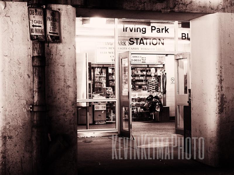 Irving Park Station
