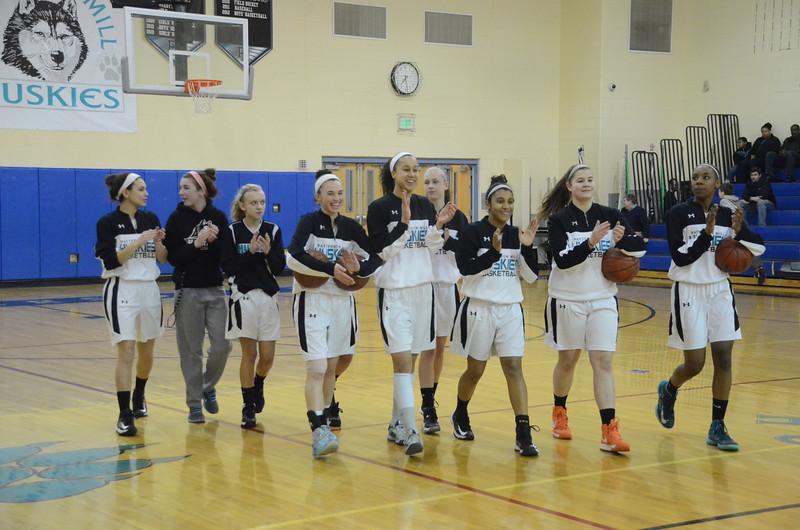 Girls Varsity Basketball March 6 vs Rising Sun