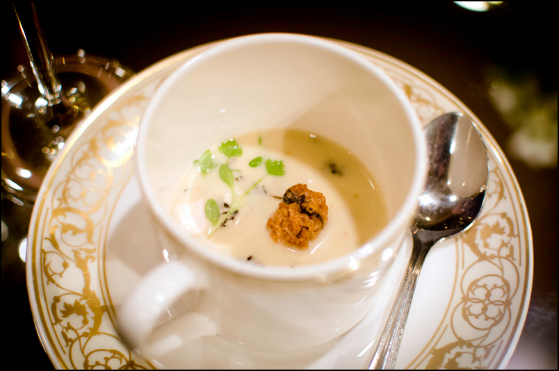 The Point Revolving Restaurant - Chicken Veloute
